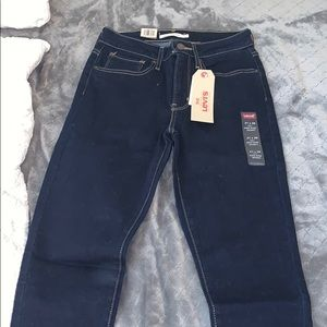 women high rise skinny levis jeans